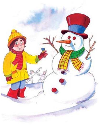 ο χιονανθρωπος και το κοριτσι-τουρτουρι