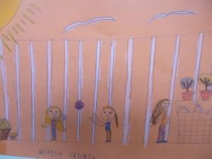 Ζωγραφιά της Κλεαρχίας από τη Β΄ τάξη