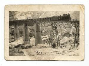 Σπάνια φωτογραφία με τη γέφυρα του Γοργοποτάμου