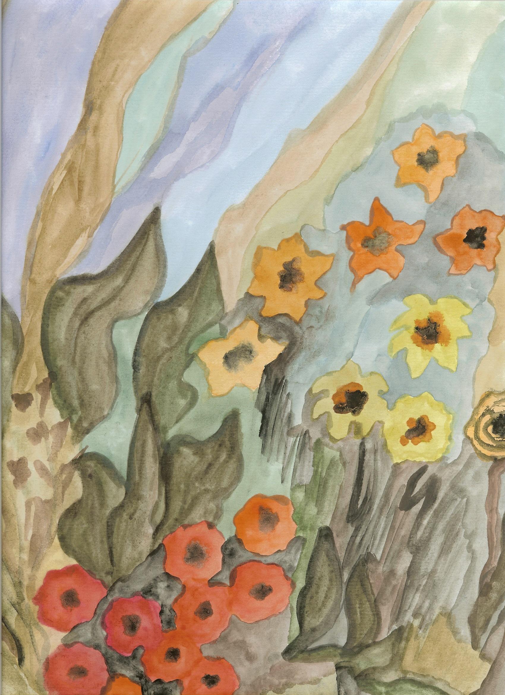 Λουλούδια παστέλ