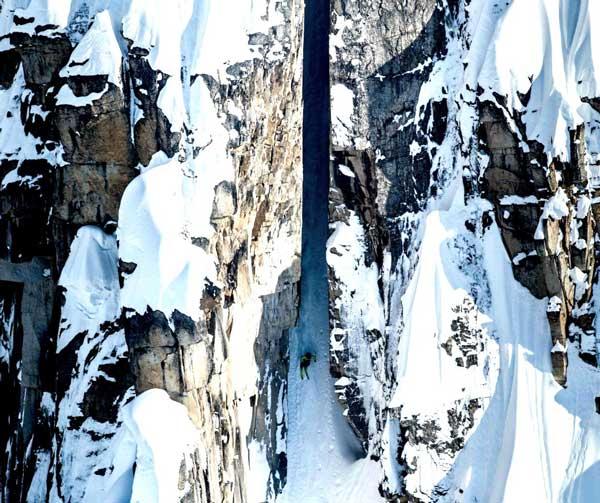 Η πιο επικίνδυνη κατάβαση με σκι