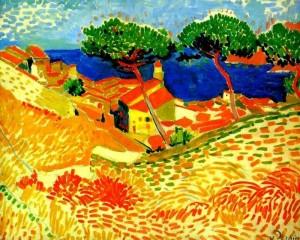 André Derain (1880-1954)  Vue de Collioure.