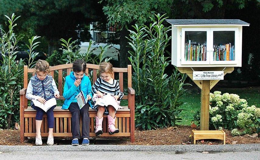 Μια Μικρή Δωρεάν Βιβλιοθήκη στη Βραζιλία