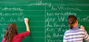 Hessische Grundschueler sind schwach in Mathe und Deutsch