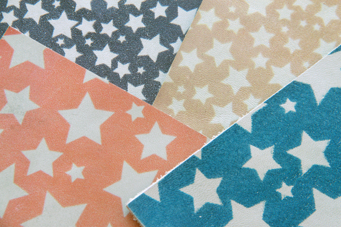 stars_-print_on_leather