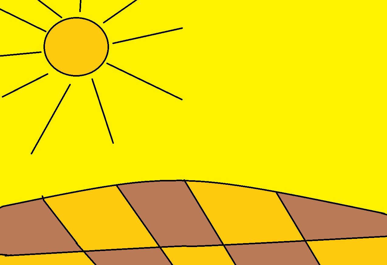 ο ηλιος που καίει