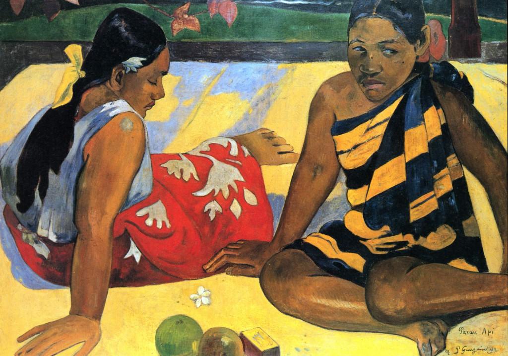 Γκογκέν, Γυναίκες της Ταϊτής