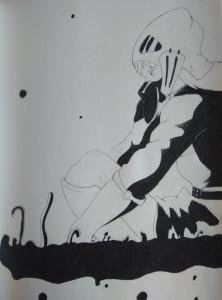 Οινόη, σκίτσο 1