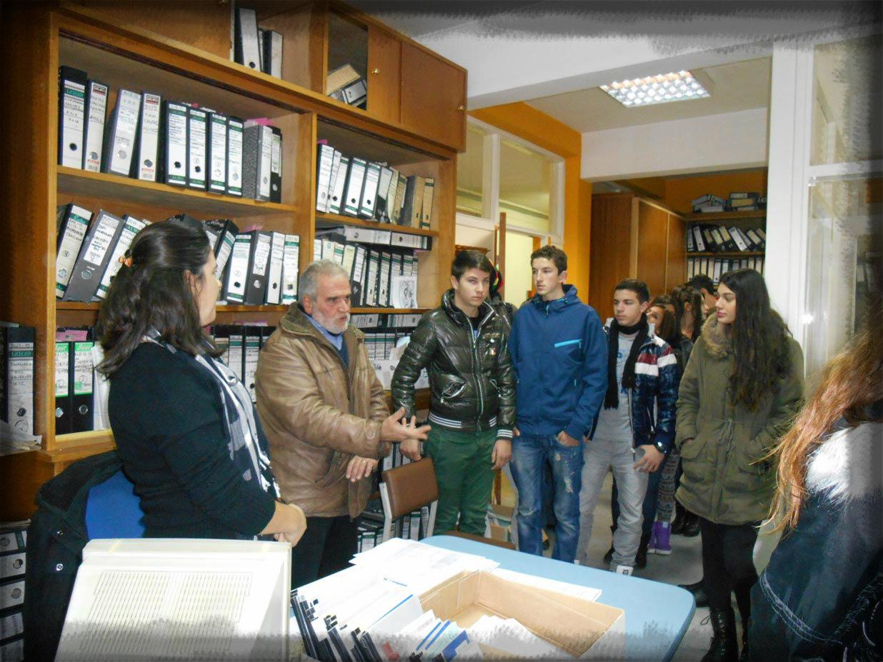 Διδακτική επίσκεψη στο εργοστάσιο Ζαχάρεως του Ν. Σερρών