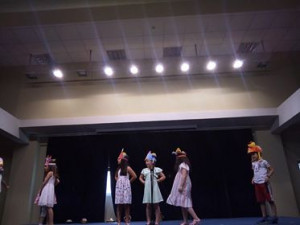 The 2nd Graders' performance about happiness