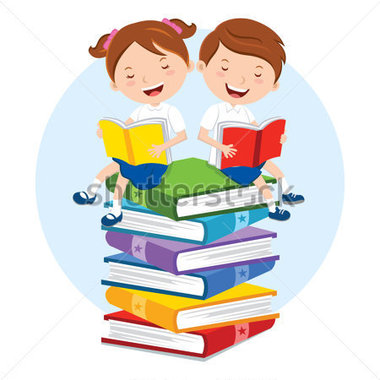 school-kids-reading-for-pleasure-children-sitting-on-multicolor-books-they-are-enjoying-reading_181222010