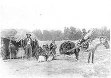 Βόρειοι Τσεγιέν με άλογο, 1890