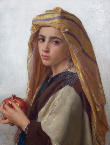 W. BougeureauGirl with a pomegranate 1875