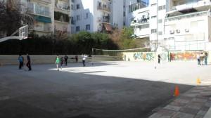 Η αυλή του σχολείου