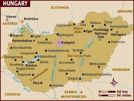 map_of_hungary