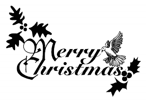 merry_Christmas_sign_BW_T