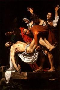 Καραβάτζιο «Η ταφή του Κυρίου»