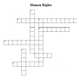 human rights crossword