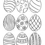πατρόν αυγά με σχέδια