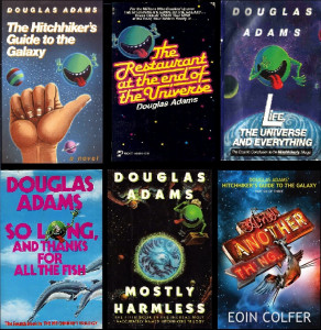 The Hitchhikers books