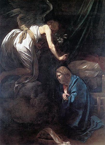 Evaggelismos-Caravaggio