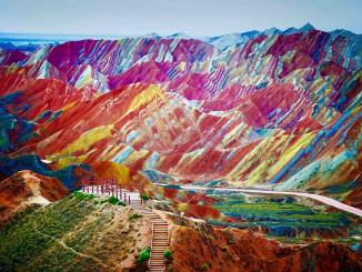 Tο χρωματιστό βουνό- CNN Ελλάδας